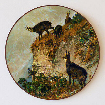 Altri Complementi D'arredo Gämsen Gamswild Chamois Montagna Rocce Bullseye Schützenscheibe 30cm 85 Exquisite Craftsmanship; Arte E Antiquariato