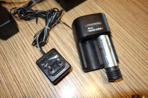 pour visseuse sans fil Batterie Clé à chocs Black /& Decker VP 120//130 1 x Chargeur Versapak