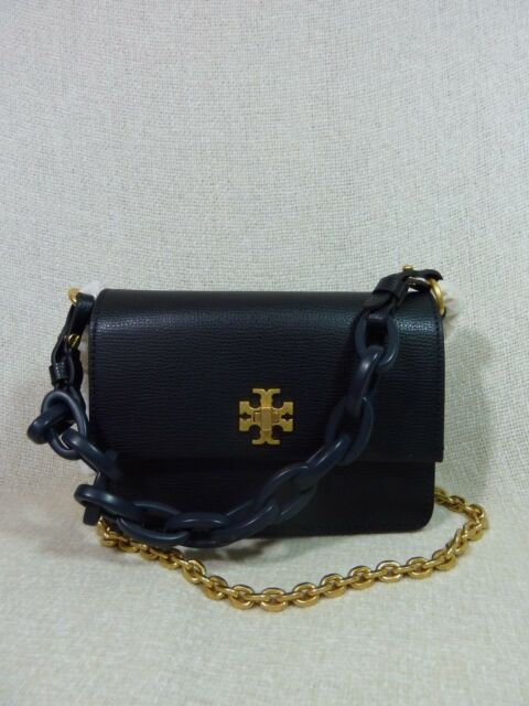 7b238f6be1834 Tory Burch Kira Pebbled Leather Mini Shoulder Bag in Black for sale ...