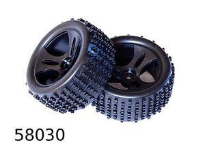 HSP-58030-RK-Coppia-gomme-cerchio-1-18-WLTOYS-buggy-radiokontrol-seben-himoto