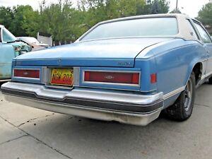 1977 1978 Buick Riviera Rear Bumper Shock Fits Left Or Right Side Ebay