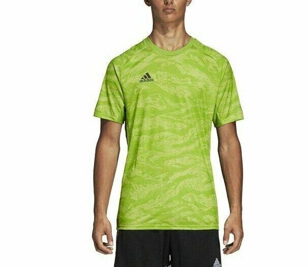 adidas Adipro 19 Goalkeeper GK Goalie Jersey Size M Solar Green ...