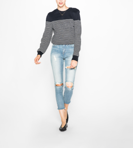 NWT-SILVER-JEANS-Women-039-s-Blue-High-Rise-Mom-Denim-Jeans-33-X-27