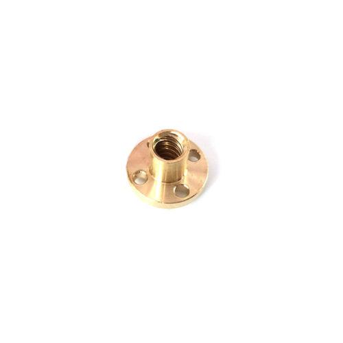 T12x2 L100-550mm Lead Screw Trapezoidal Rod 3D Printer Picth 2mm Lead 2mm Nut
