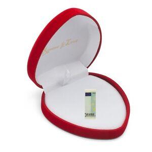 Herz-Box-Rot-Edel-Geschenkbox-Liebes-Geschenkschachtel-Geld-Verpackung-Herzform
