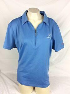 Honda Jet HondaJet Blue Callaway Womens Polo Shirt Top Size XXL Polyester NWT