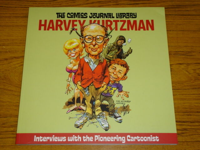 COMICS JOURNAL LIBRARY VOL 7 HARVEY KURTZMAN GN FANTAGRAPHICS 9781560977551