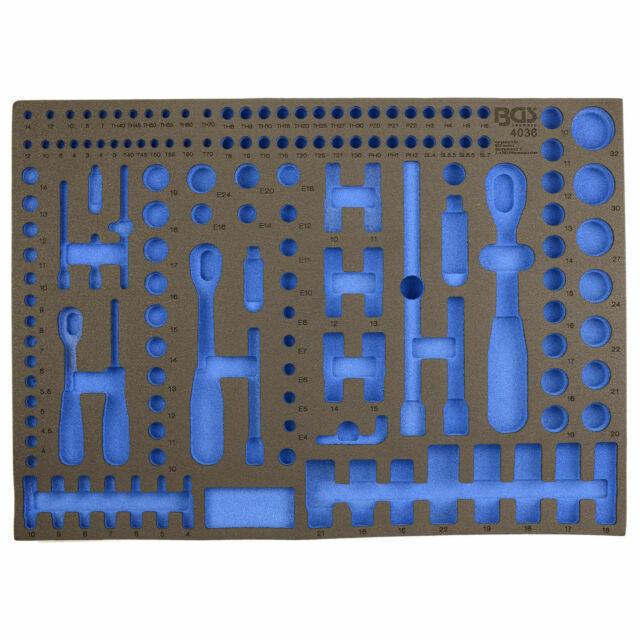 Bgs 4036 1 3 3 Bandeja De Espuma De Repuesto Para Carro De Herramientas Modelo 4036 Negra Azul Compra Online En Ebay