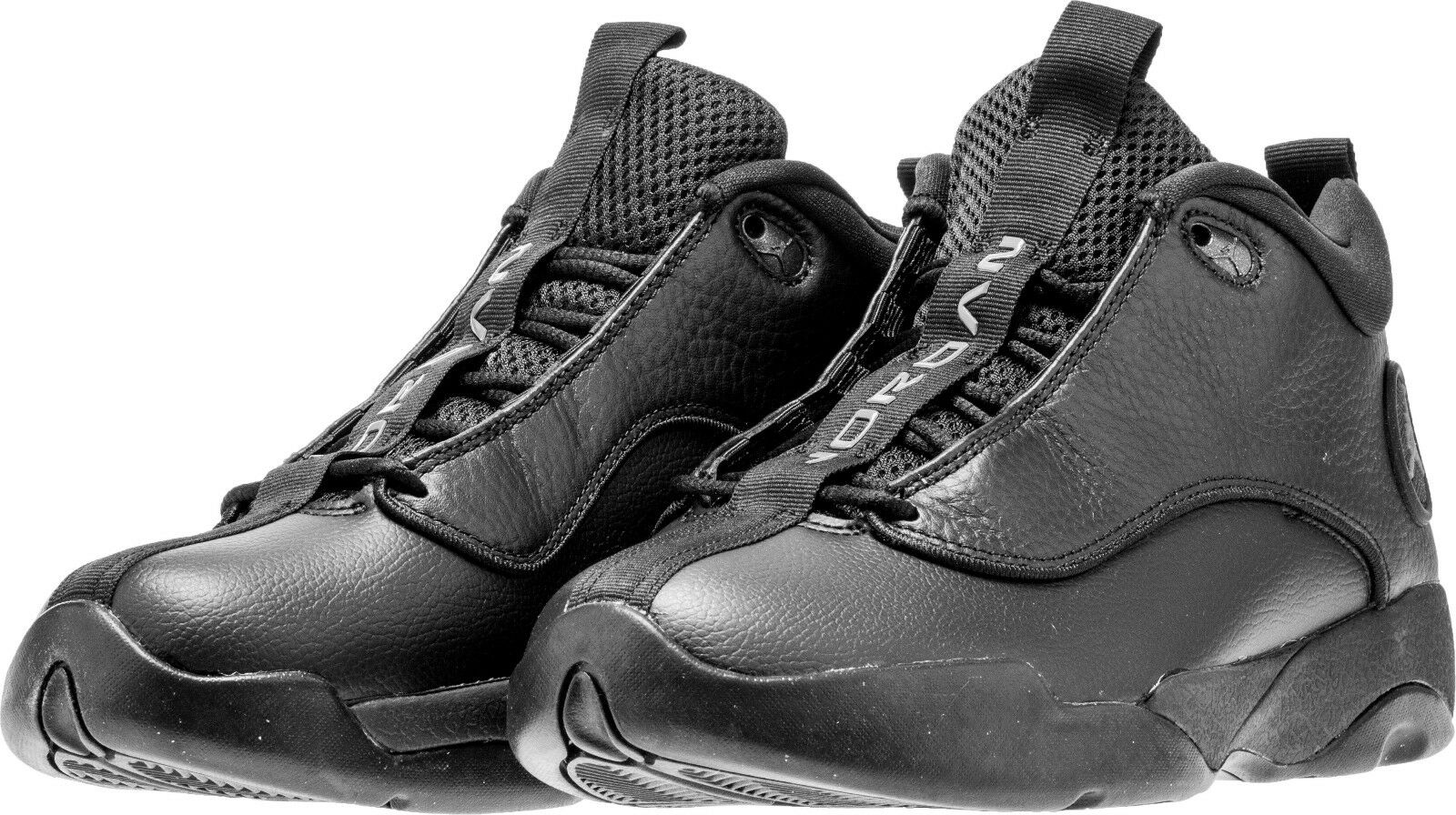 Para hombres Jordan Jumpman Pro Quick mediados Air Negro gris Tallas 8-12 Nuevo en Caja 932687-011