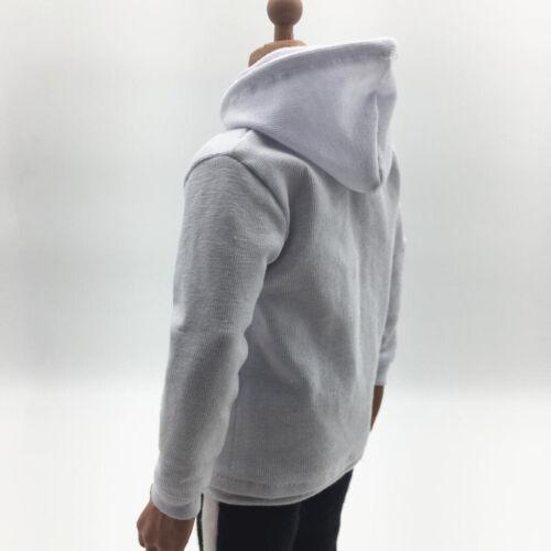 1//6 Mens Top Hoodie Sweatshirt Hip Pop DIY for 12inch Hot Toys Figure Parts