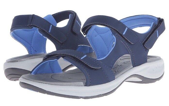 Easy Spirit Egnita athletic sport sandal fully adjustable navy blue 12 Med NEW