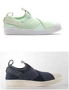 Adidas Superstar Slip-On Unisex Damen Herren Schuhe Sneaker Slipper Gr. 37 - 48