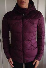 Lululemon Size 4 Fluffin Awesome 800 Goose Down Winter Jacket Plum Coat EUC run