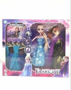 2PCS-DISNEY-FROZEN-2-frozen-doll-Playset-Elsa-amp-Anna-New-Figures-with-Jewellery-or