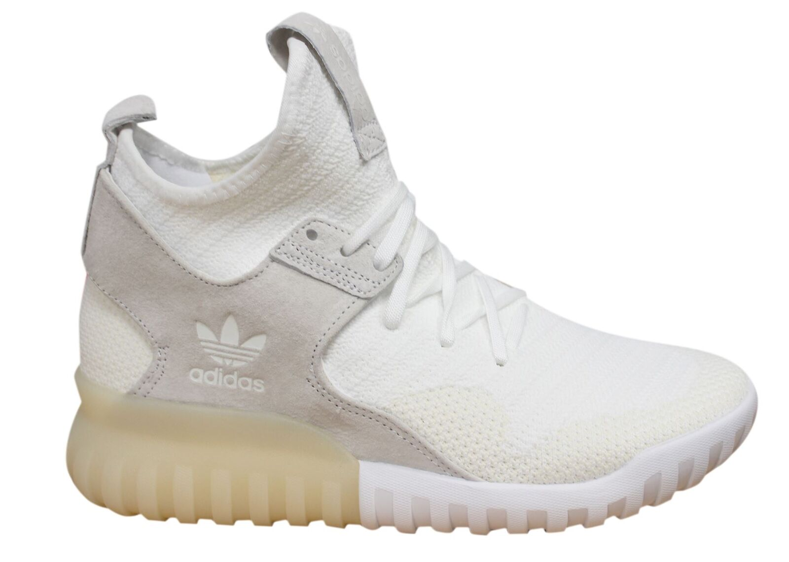 Adidas Originals Tubular X PK Lace Up White Mens Leather Trainers S80130 M16
