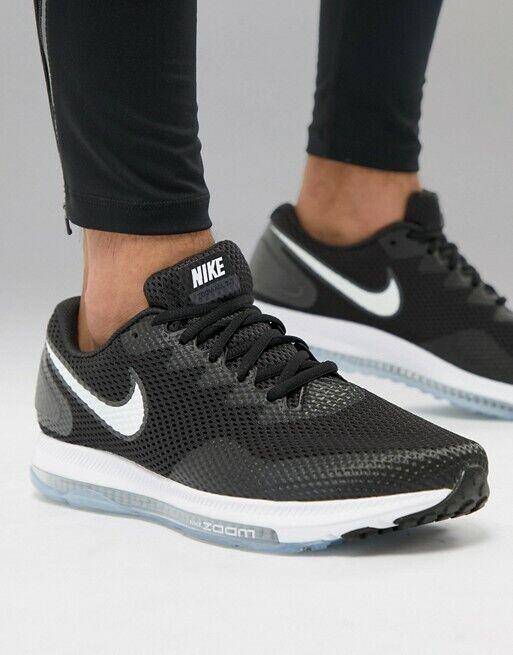 Para hombre NIKE ZOOM todos bajo 2 AIR Negro blancoo Zapatos Atléticos De Entrenamiento Correr