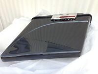 Black Pearl Stretch Saddlebags 4 Inch Stretched Hardware 4 Harley Davidson