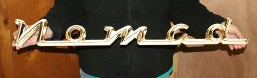 "FLAT STEEL SIGN 34/"" X 4″ CHEVROLET 1957 NOMAD SCRIPT"