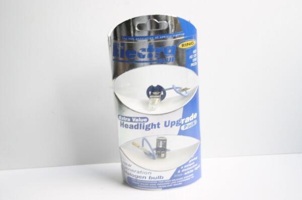 Ring Blue Headlight Upgrade Pack 55w Halogen Bulb Legal