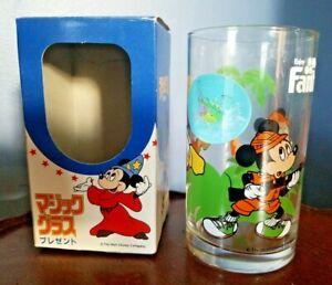 DISNEY-Fanta-HUNTING-Mickey-Mouse-034-Flicker-034-Veri-Vue-Sticker-on-Glass-Org-Box