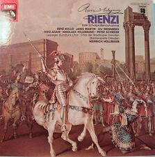 """WAGNER RIENZI -QUADROPHONIE EMI- HEINRICH HOLLREISER  12"""" LP  [k356]"""