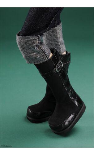 Raver Boots Dollmore 1//4 BJD MSD Black