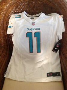 668937f3 Details about Miami Dolphins NFL Jersey mike wallace new with tags #11 size  XL women's