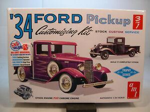 1934 Ford Pickup Truck Customizing Kit 1//25 AMT Models 1120 Plastic Model Kit