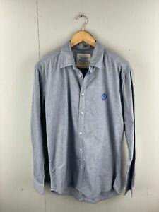 Nouveau-Men-s-Long-Sleeve-Shirt-Size-2XL-Blue