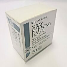 Henry Schein X Ray Bite Wing Loops Adult 500box