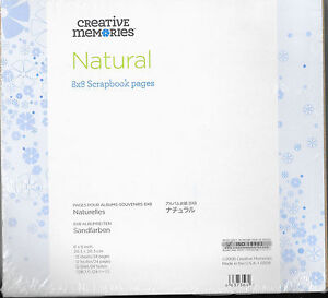 CREATIVE-MEMORIES-8x8-NATURAL-PAGES-BNIP