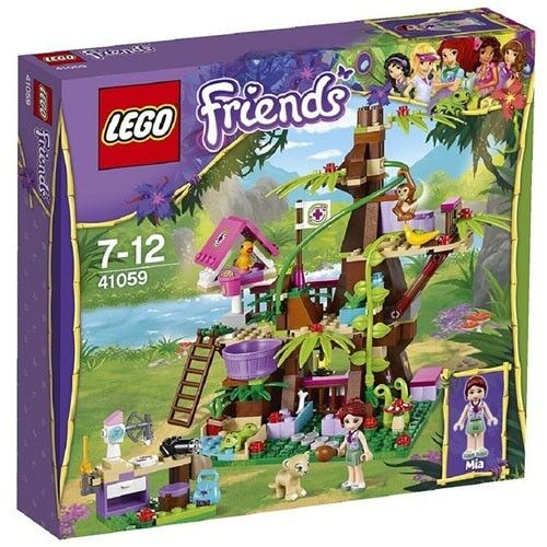 LEGO Friends 41059 Jungle Tree Sanctuary 41059 New In Box Sealed  41059