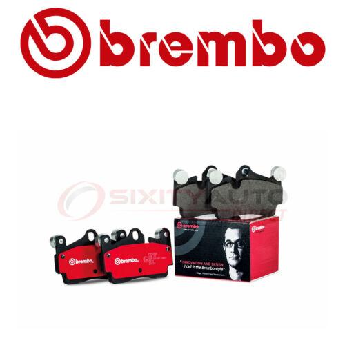 Brembo Rear Disc Brake Pad Set for 2014-2018 Nissan Rogue Braking uo