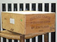 1983 CHATEAU CANON, 12 x 0,75l in OHK  !!! 88 PARKER !!!