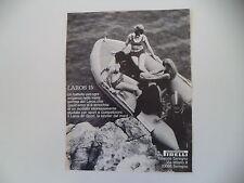 advertising Pubblicità 1969 BATTELLO GOMMONE PIRELLI LAROS 15
