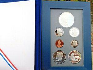 1993-Prestige-Proof-Set-amp-Olympic-Torch-Coin-U-S-Mint-Commemorative-Madison