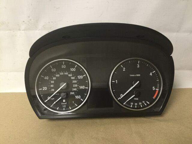 BMW 3 E90 E91 Diesel Speedometer Clocks Instrument 9110206 9187345 9220964
