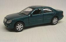Mercedes-Benz S-Class Sedan 1:38  Die Cast Welly 9751 Green