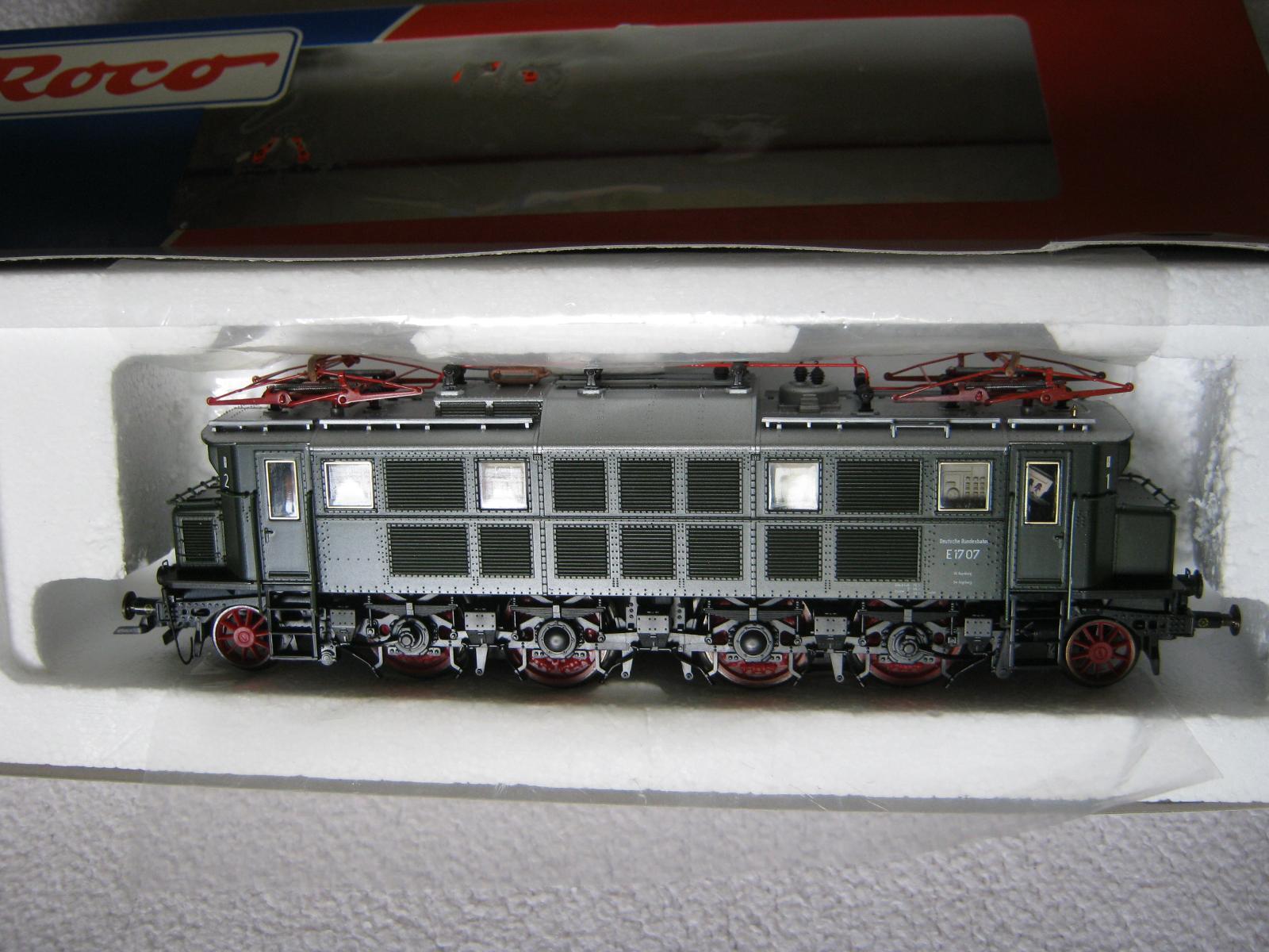 Digital ROCO HO 43876 Elektro Lok BR e17 07 DB verde (rg bo 98s9 4)