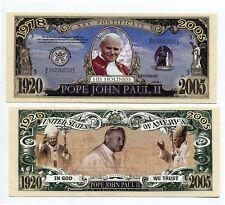 POPE JOHN PAUL 11   KEY RING AND   BILL