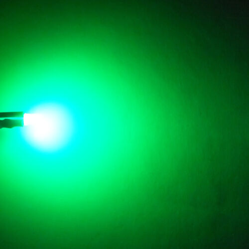 20 LEDs 3mm verde difuso 8000mcd LED verde Green PC Modding para coche modellbau