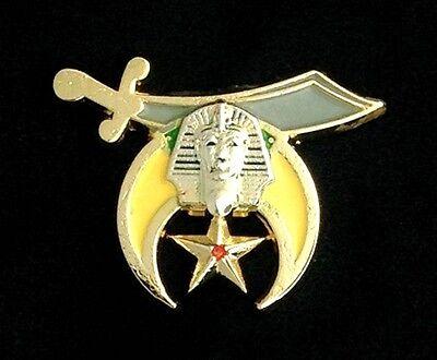 Masonic Shriner Scimitar Lapel Pin SLP-SC