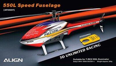 Align T-Rex Vitesse 550 L fuselage Rouge
