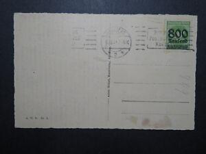 Germany-1923-Inflation-Era-Postcard-Used-Hinge-Rem-Z11739