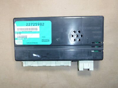 2004-2005 SATURN L SERIES BODY CONTROL MODULE B4 22725982