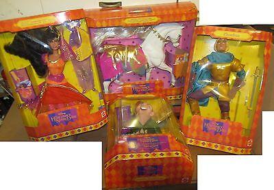 Il Gobbo Di Notre Dame Gobbo Esmeralda Phoebus E Cavallo Disney Mattel 1995