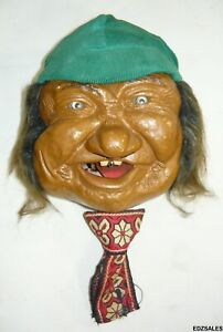 Vintage Laffun Head Peter Figuren Hobo Yodeller Crazy Guys Bibi Products