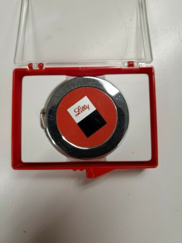 Vintage 6-Foot LUFKIN Advertising Steel Tape Measure Lilly Company New