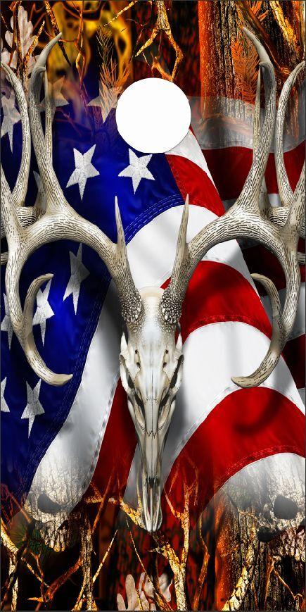 American Deer Oblit Skull Blaze Cam LAMINATED Cornhole  Wrap Bag Toss Skin Decal  the best after-sale service