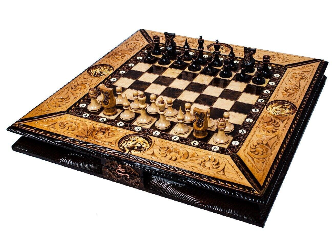 Handmade chess, Wooden chess set, Chess set, chess game, chess board, gift